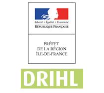 logo drihl ile de france